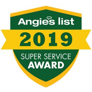 Angie's List Carpet Cleaning Super Service Award