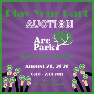 Arc Lane Count Play Your Part Auction 2020